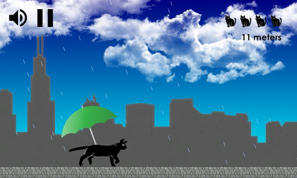 Cat in the rain apk screenshot