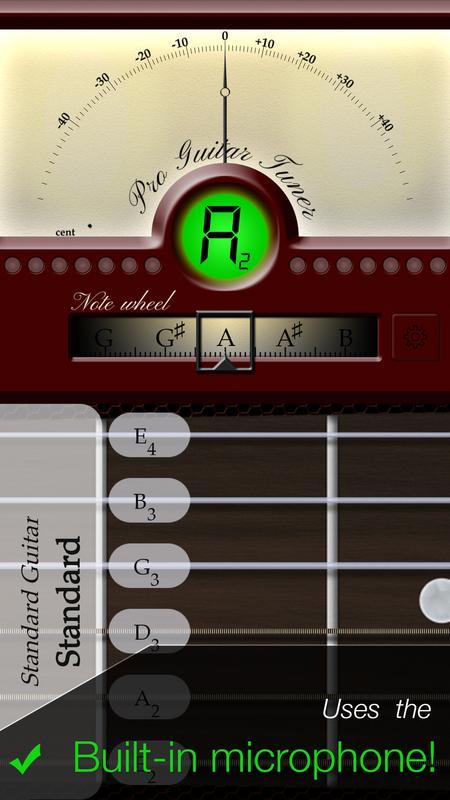 Pro guitar tuner.