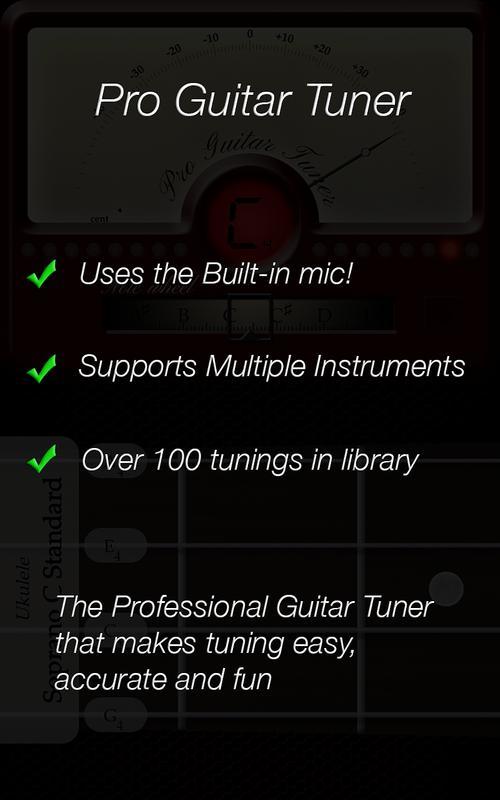 afinador pro guitar tuner apk baixar gr tis m sica e udio aplicativo para android. Black Bedroom Furniture Sets. Home Design Ideas