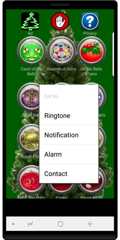 christmas ringtones poster christmas ringtones screenshot 1 - Christmas Ringtones Android