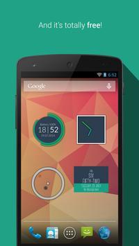 Minimalist Clock Widget screenshot 5