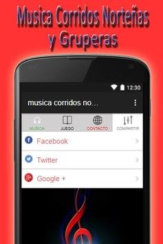 music corridos norteña grupera free fm am apk screenshot
