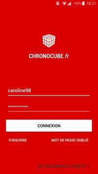 CHRONOCUBE poster
