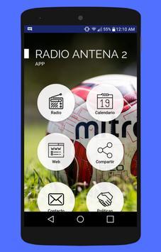 Antena 2 Radio Deportes Colombia no oficial poster