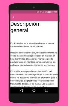 Cáncer de Mama apk screenshot