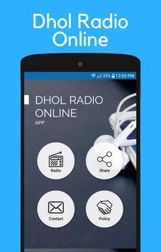 Dhol Radio Online Punjabi Music poster
