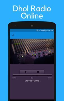 Dhol Radio Online Punjabi Music screenshot 1