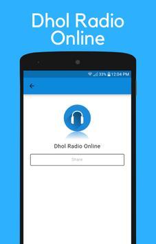 Dhol Radio Online Punjabi Music screenshot 2