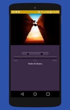 Radio Ke Buena Gratis no oficial apk screenshot
