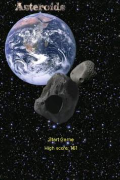 Asteroids - Free Version poster
