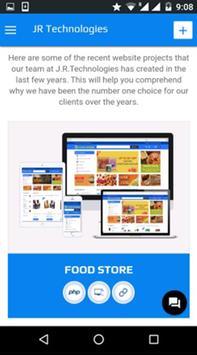 JR Technologies apk screenshot