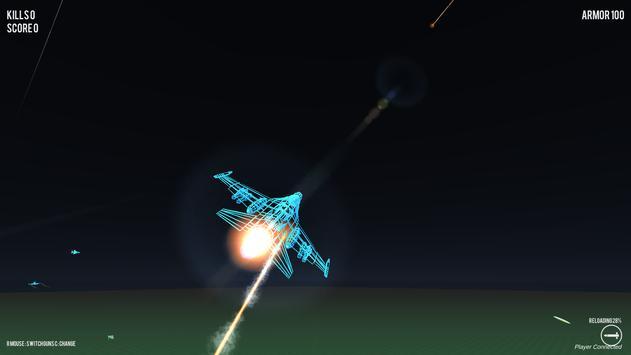 Air Strike Wireframe screenshot 3