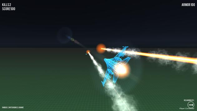 Air Strike Wireframe screenshot 5