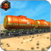 Oil Tanker Train Sim 2018 icon
