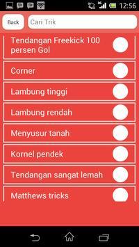Trik PES 2013-2014-2015-2016 apk screenshot