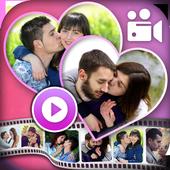 Valentine Photo Video Maker icon