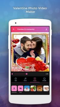 Valentine Photo Video Maker screenshot 2