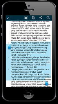 Ayat Emas Alkitab apk screenshot