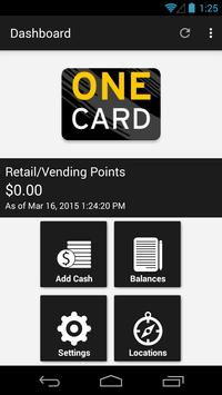 Towson University OneCard poster