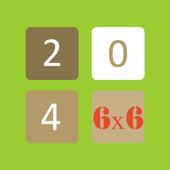 2048 6x6 icon