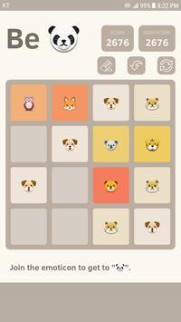 2048 Emoticon apk screenshot