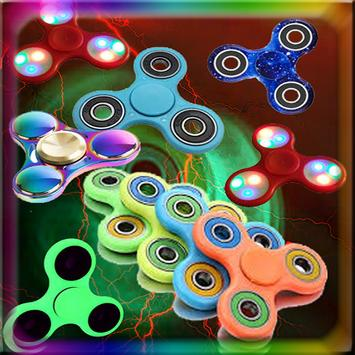 play fidget spinners puzzle poster