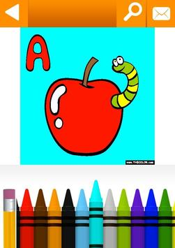 School, Educational Coloring Pages by TheColor.com poster