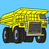 Vehicles, Cars, Trucks Coloring by TheColor.com icon