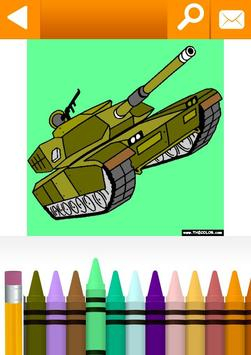 Vehicles, Cars, Trucks Coloring by TheColor.com apk screenshot