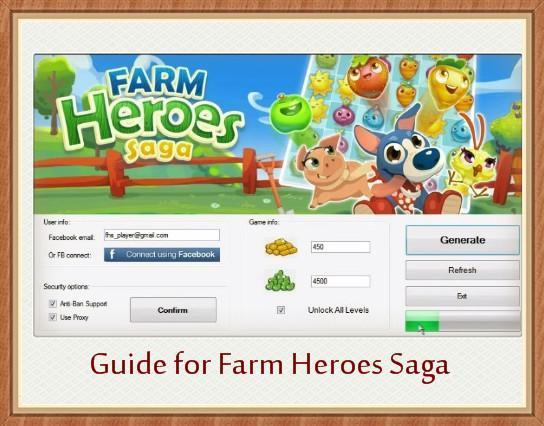 Guide Farm Heroes Saga Hack for Android - APK Download
