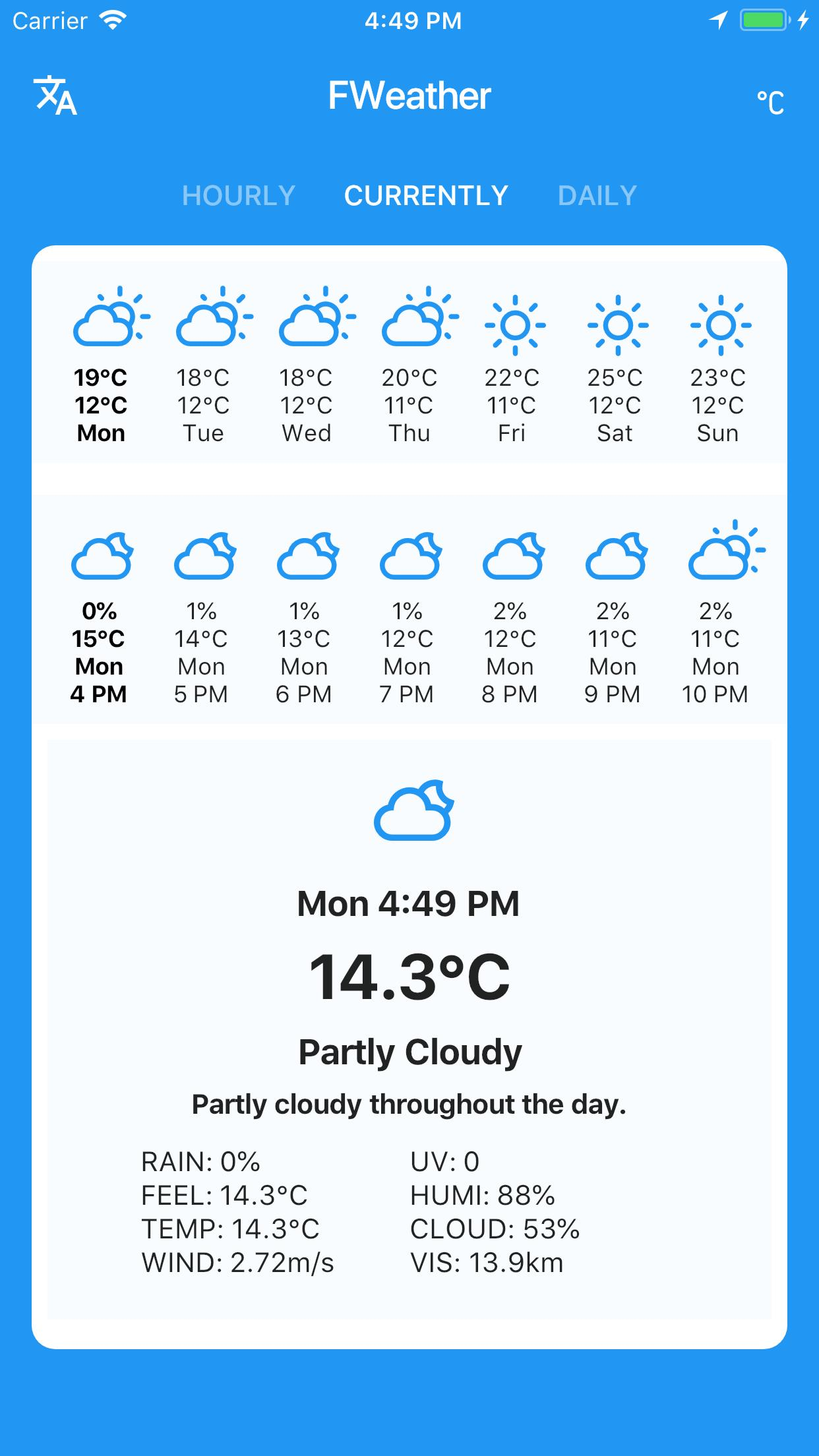 Flutter Weather for Android - APK Download