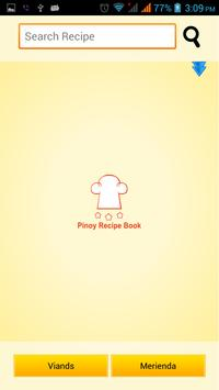 Pinoy Foods Recipe Book poster