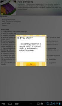 Pinoy Foods Recipe Book apk screenshot