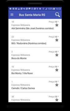 Bus Santa Maria - RS apk screenshot