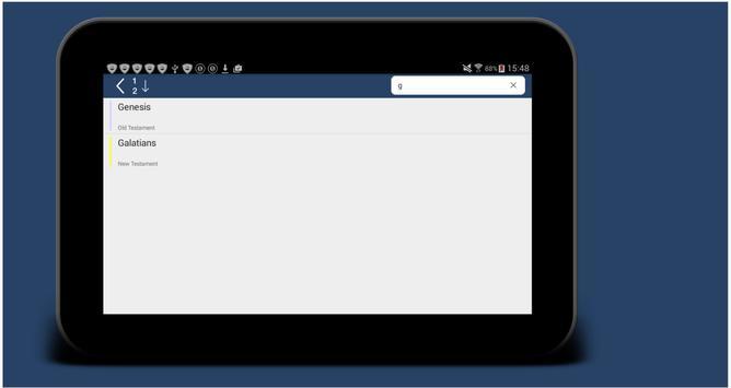 Holy Bible Multilanguage Smart screenshot 8