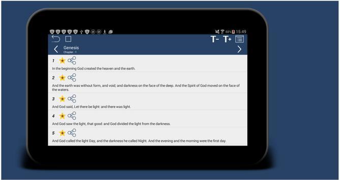 Holy Bible Multilanguage Smart screenshot 9