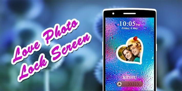 Love Photo Lock Screen poster