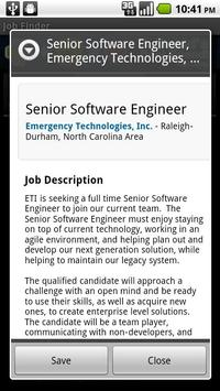 Dream Job Finder apk screenshot