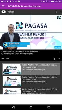 DOST-PAGASA Weather Update screenshot 3