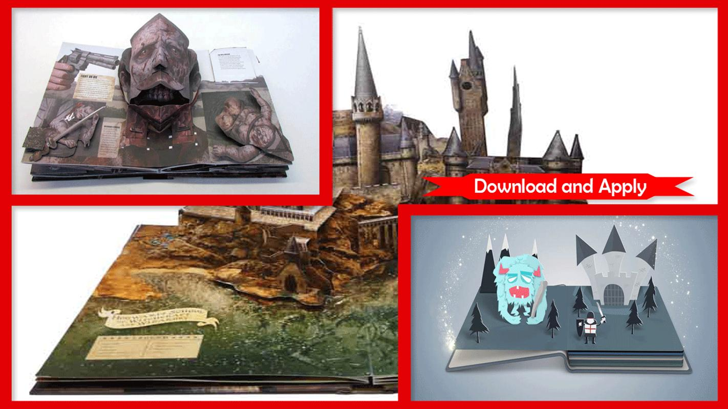 500+ Pop-up Book Templates for Android - APK Download