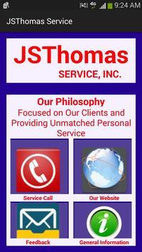 JSThomas Service poster