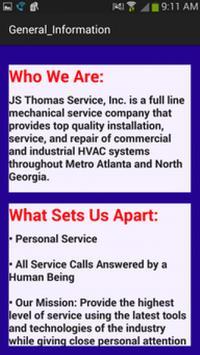 JSThomas Service screenshot 1