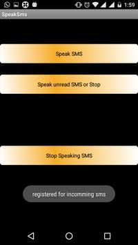 Speak SMS screenshot 2