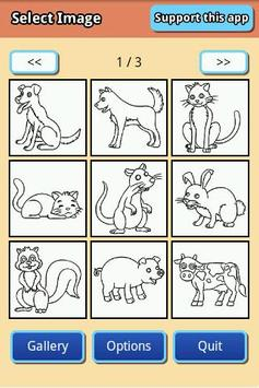 Coloring Page - Animal screenshot 1