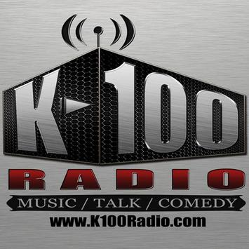 K-100 Radio poster