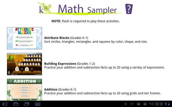 K12 Math Sampler for Android - APK Download