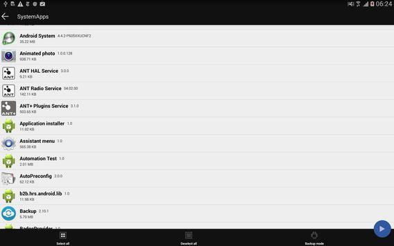Backup + screenshot 8
