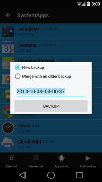 Backup + screenshot 1