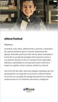 eMove Festival App screenshot 2