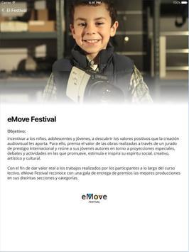 eMove Festival App screenshot 5